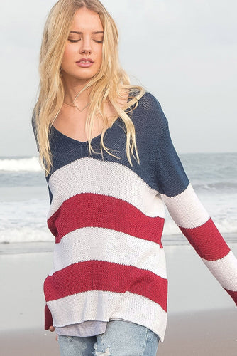 AMERICANA V-NECK COTTON