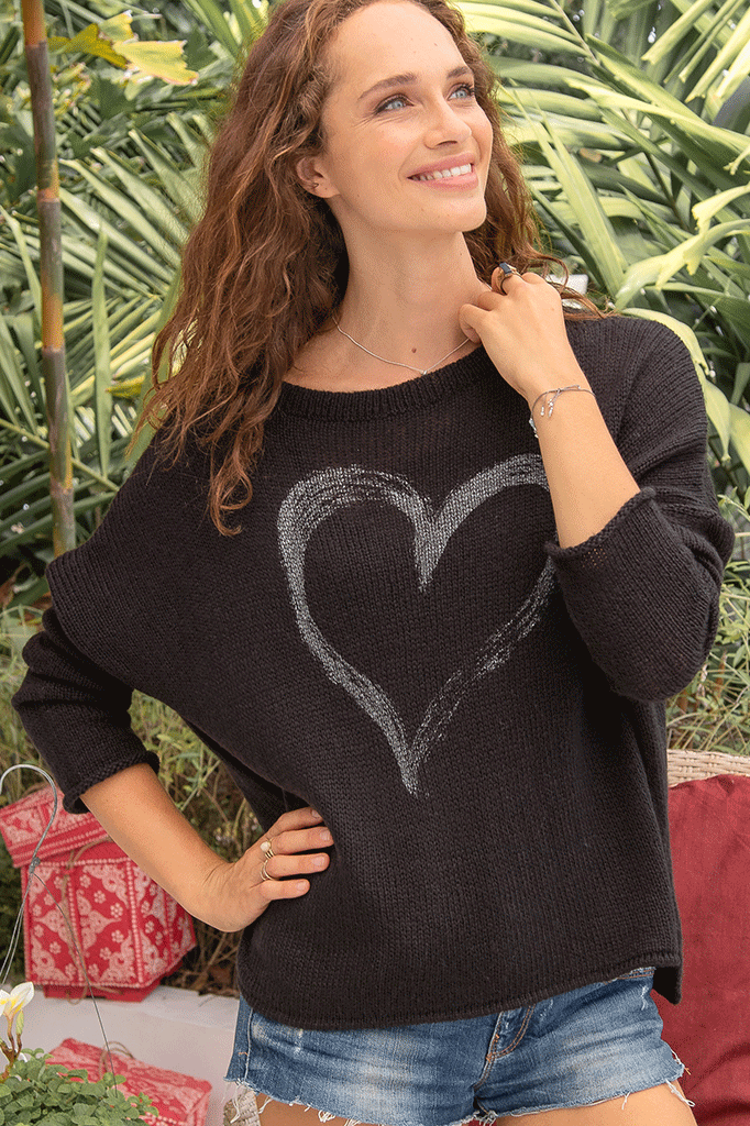 Women's Amore Crew Lightweight Sweater's | Wooden Ships Knits