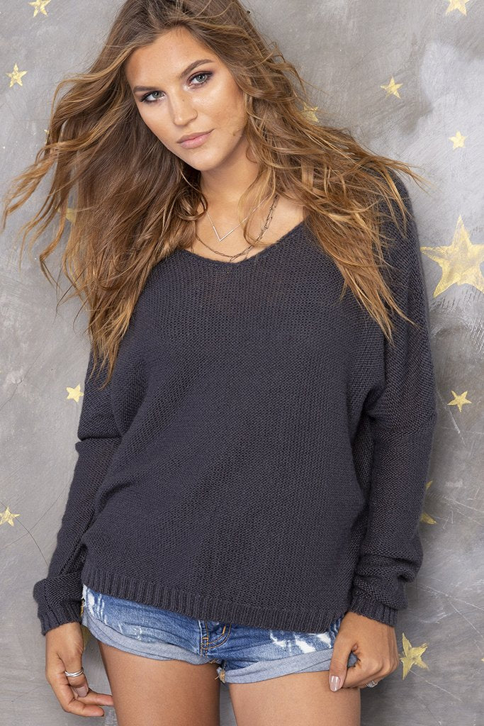 Women's Ansel V Lightweight Sweater's | Wooden Ships Knits