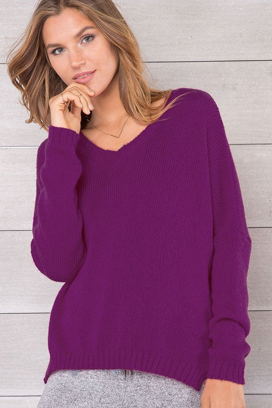 *SALE* Women's  ansel v lightweight Sweater's | Wooden Ships Knits