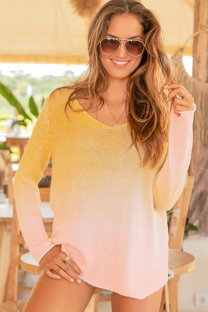 Women's Aurora V Cotton Sweater's | Wooden Ships Knits