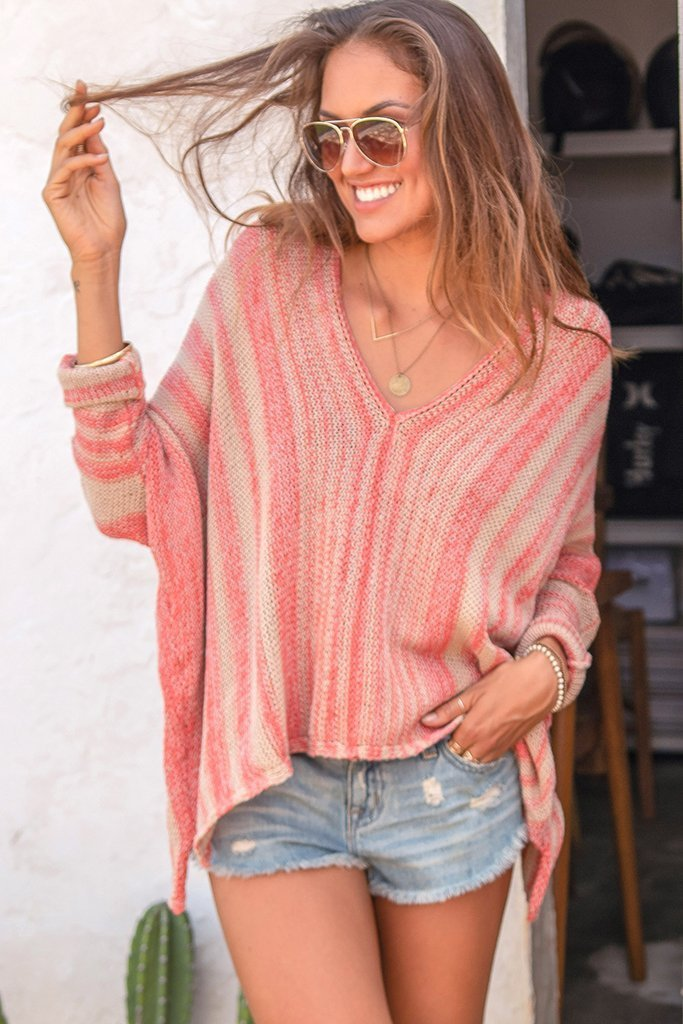 Women's Beachcomber Top Cotton Sweater's | Wooden Ships Knits