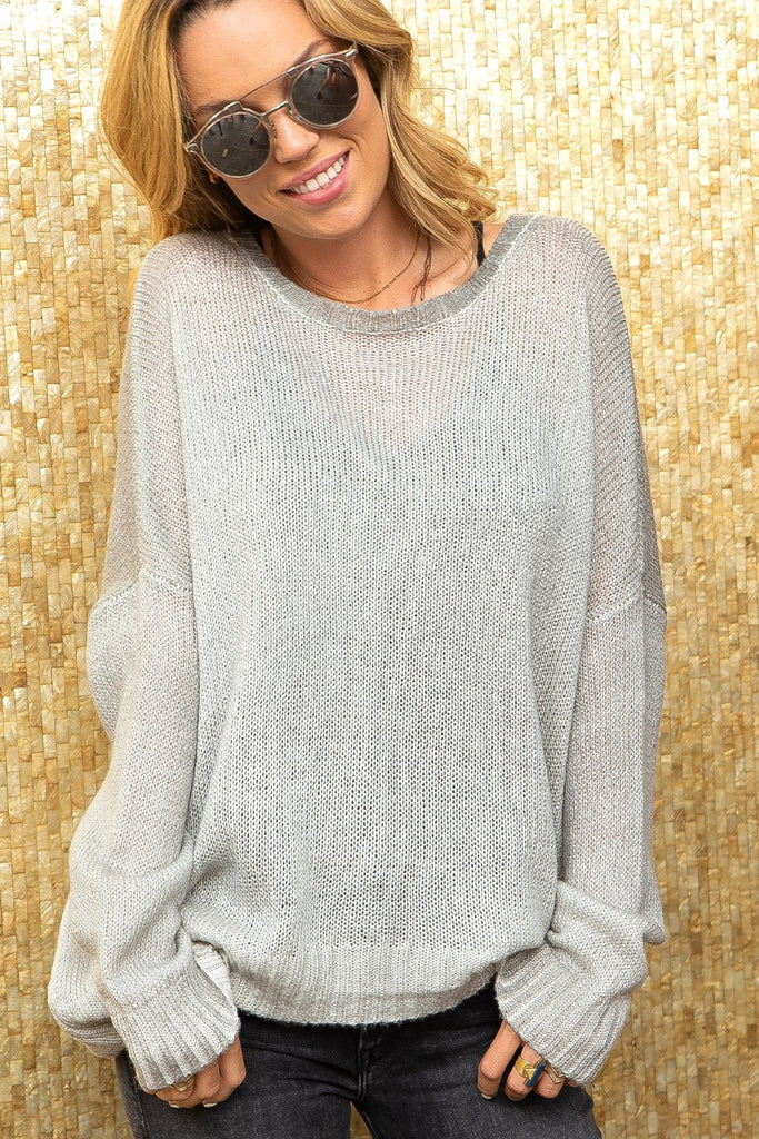 Women's Dip Dye Crew Lightweight  Sweater's | Wooden Ships Knits