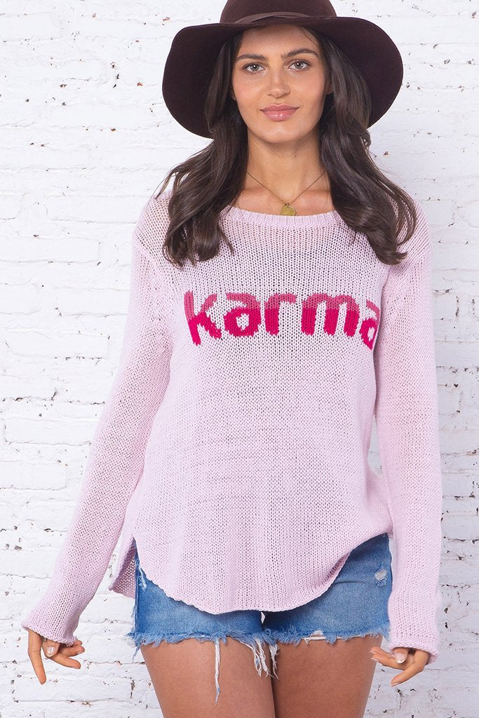Women's Karma Crew Cotton Sweater's | Wooden Ships Knits