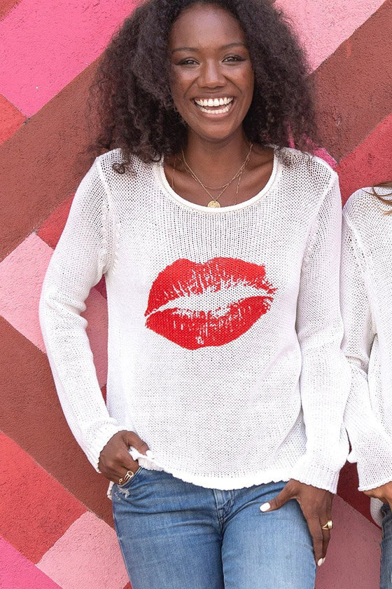 Women's Kiss Rollneck Cotton Sweater's | Wooden Ships Knits