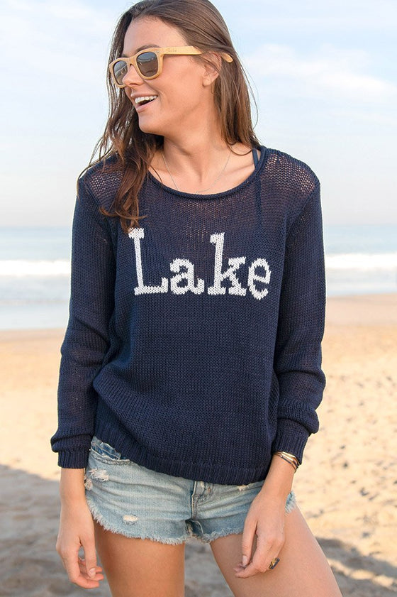 Women's Lake Rollneck Cotton Sweater's | Wooden Ships Knits