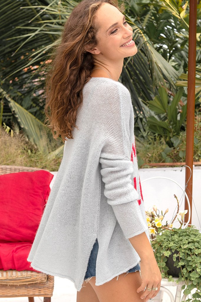 Women's More Love Crew Lightweight Sweater's | Wooden Ships Knits