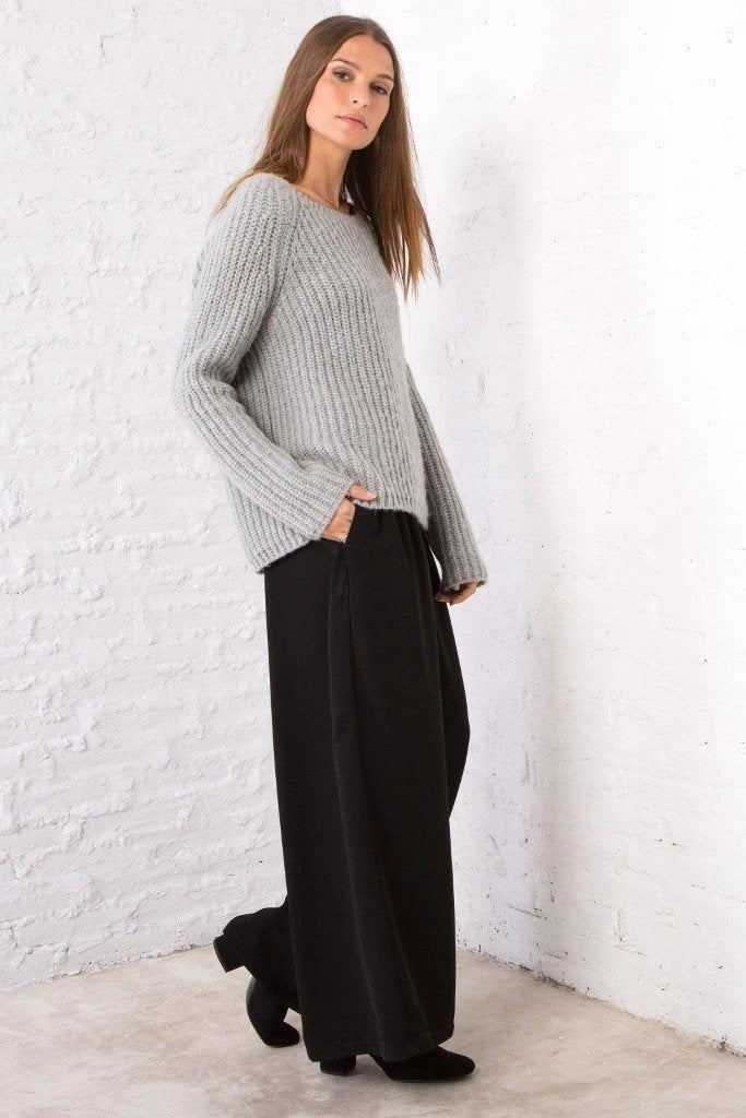 Women's Chunky Ribbed Crew Sweater's | Wooden Ships Knits