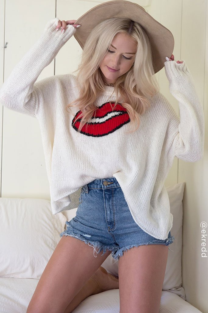 Women's Smooch Pullover Sweater's | Wooden Ships Knits
