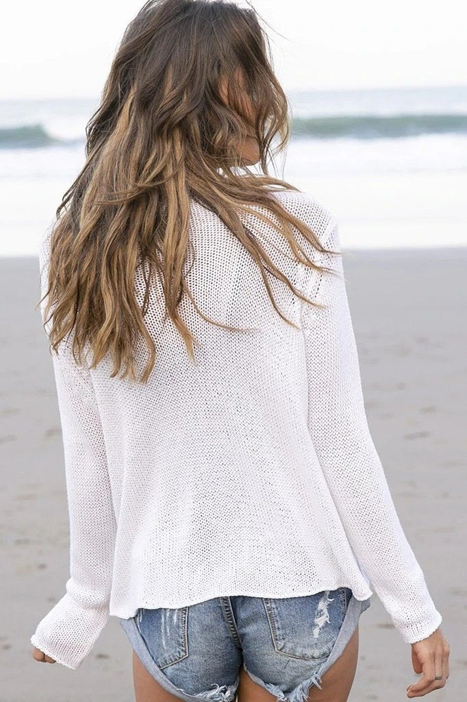 Women's Yoga Love Crew Sweater's | Wooden Ships Knits