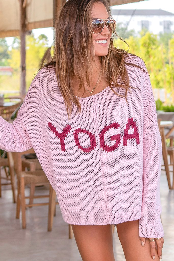 Women's Yoga Slouchy Chunky Crew Cotton Sweater's | Wooden Ships Knits
