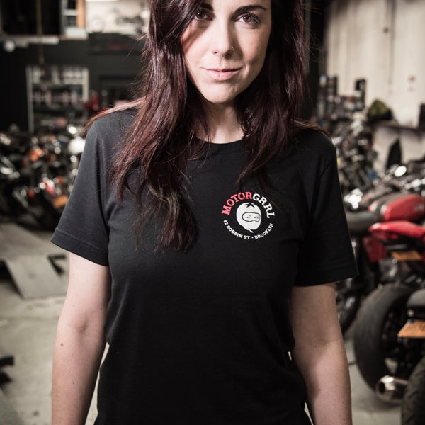 MotorGrrl Shop T-Shirt