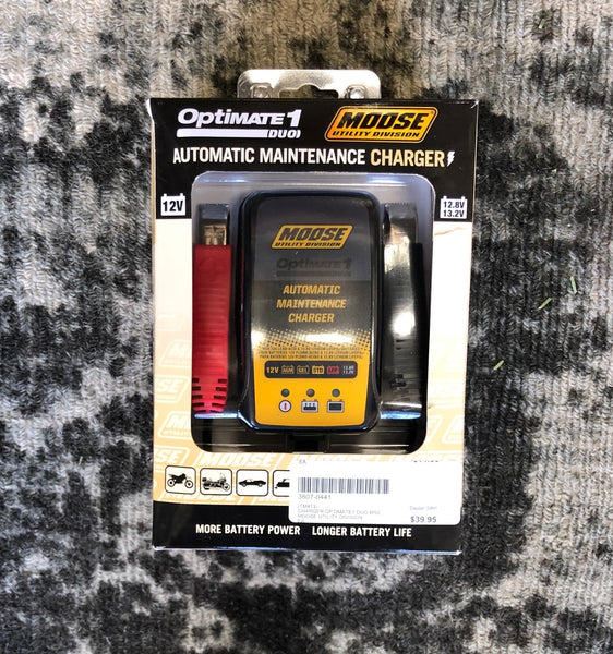 Optimate 1 Duo Automatic Trickle Charger by Moose