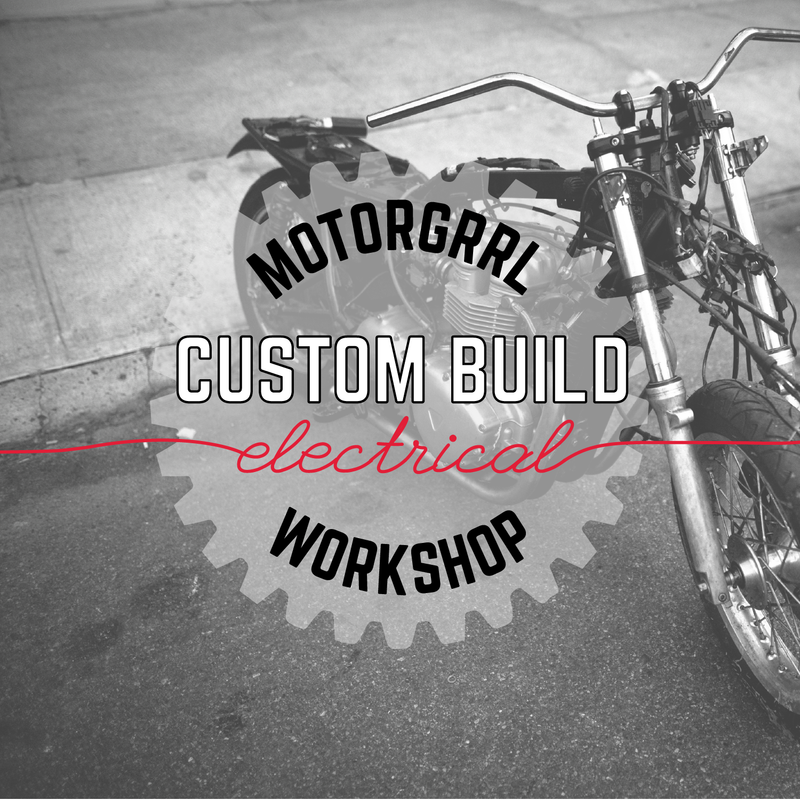 CUSTOM BUILD WORKSHOP Triumph Scrambler - Electrical