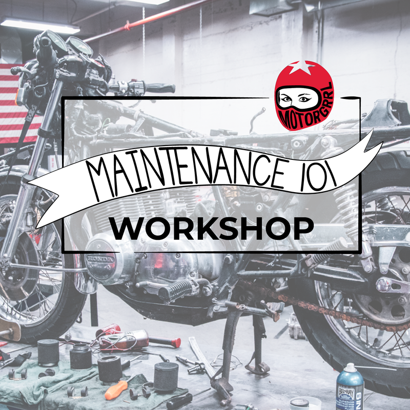 WORKSHOP - Motorcycle Maintenance 101
