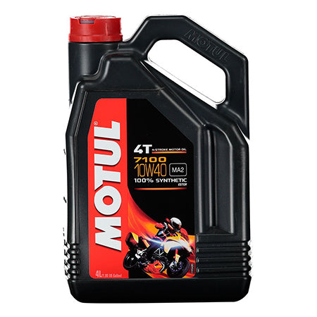 Motul Motorcycle Oil  - 7100 4T 10W40 - 4L