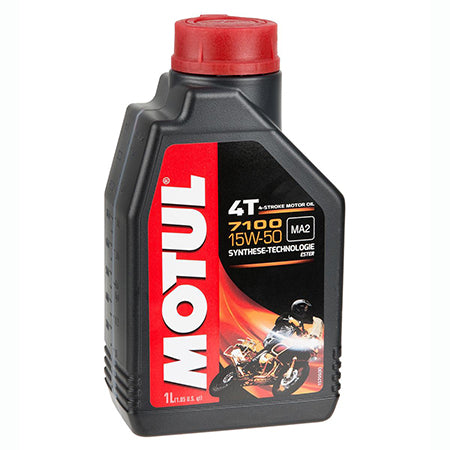 Motul Motorcycle Oil  - 7100 4T 15W50