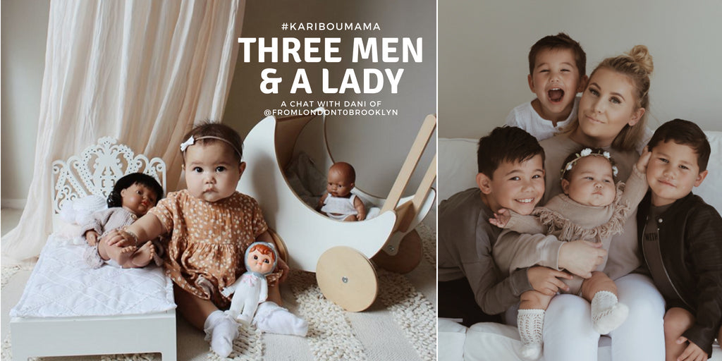 Three Men and a Lady: On Living Beautifully with Dani of @fromlondontobrooklyn