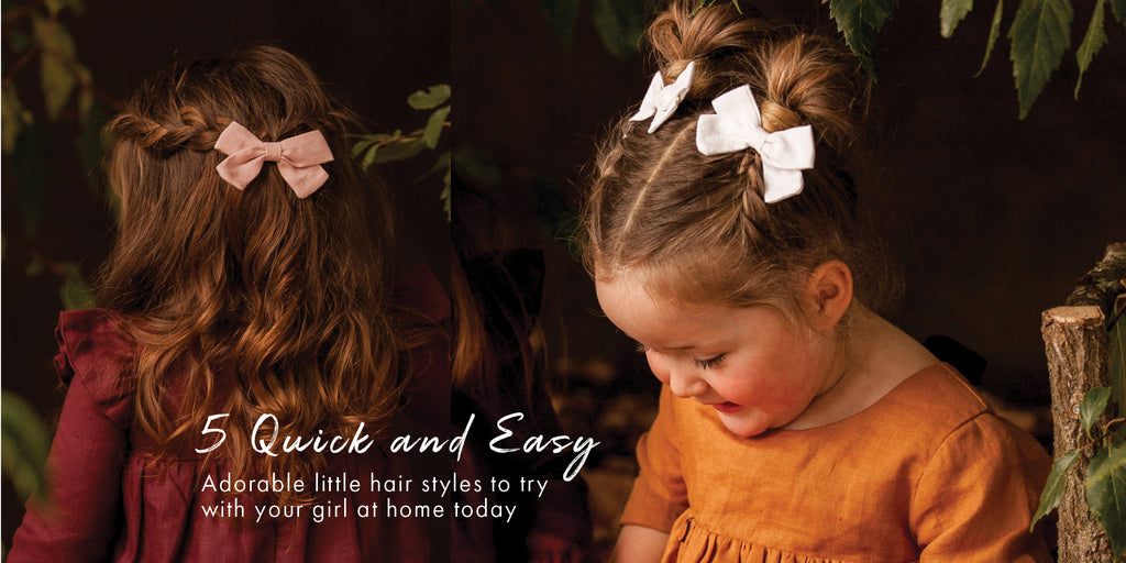 5 Quick and Easy Adorable Kids Hairstyles to Try at Home Today