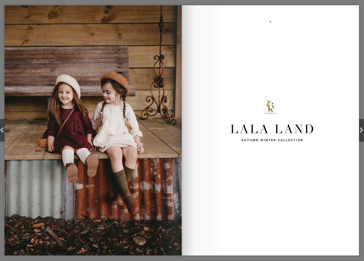 Karibou Kids Lala Land Lookbook AW