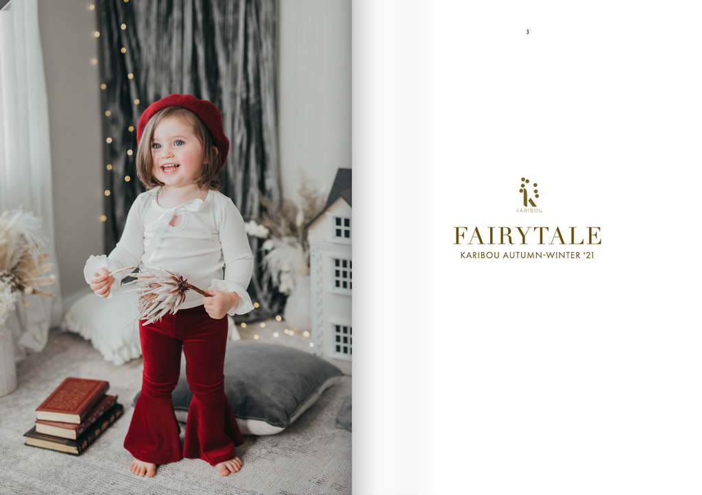 Karibou Fairytale Collection Look book