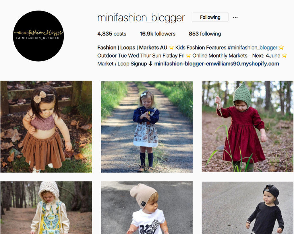 Karibou Featured on Minifashion Blogger Australia!