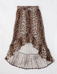 Womens leopard print skirt Karibou NZ