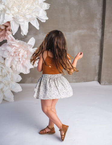 Dance and Play Cotton Skirt - Wildflower
