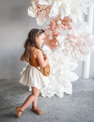 Dance and Play Cotton Skirt - Almond Milk