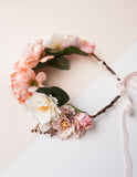 Summer Goddess Floral Crown - Secret Garden 1pc