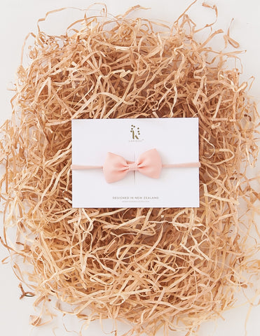 Gift of Love Baby Bow Headband - Peach