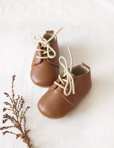 Brooklyn Genuine Leather Boots in Chocolate