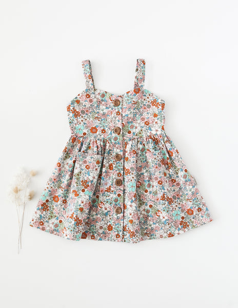 Isabelle Cotton Dress - Floral Magic