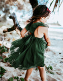 Scarlett Tutu Dress - Emerald Green