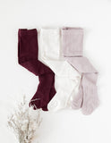 Rosie Cosy Cable Knit Tights - 3pc Pack - Colour Essentials