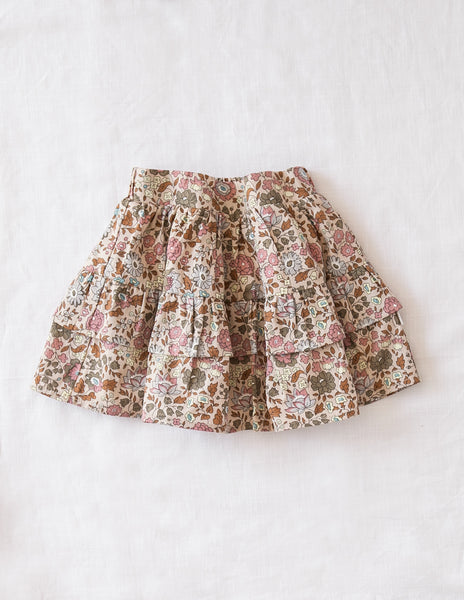 Summer Dream Mini Ruffled Skirt - Wild Meadow