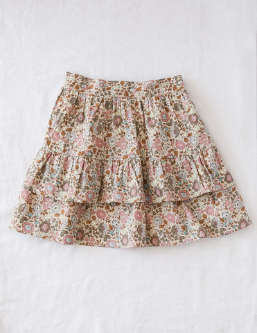 Summer Dream Ladies Ruffled Skirt - Wild Meadow