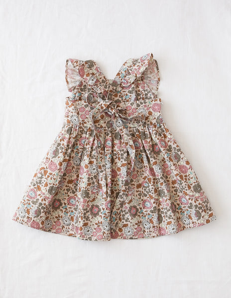 My Little Sunshine Cotton Dress - Wild Meadow