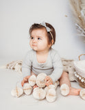 Sweetheart Cotton Bow Headband - Wildflower