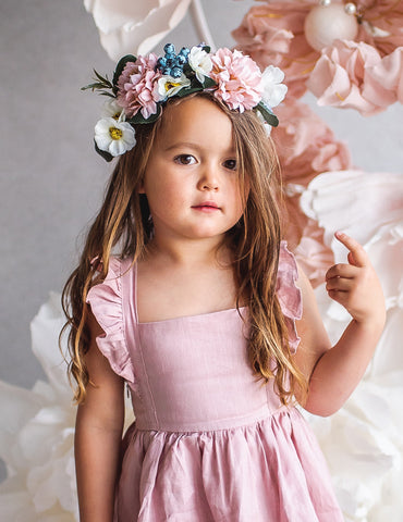 Summer Goddess Floral Crown - Wildflower 1pc