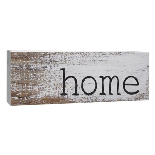 """Home"" wooden Block"