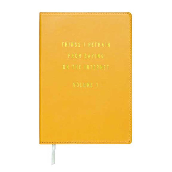 Debossed Leatherette Bright and Lively Journal