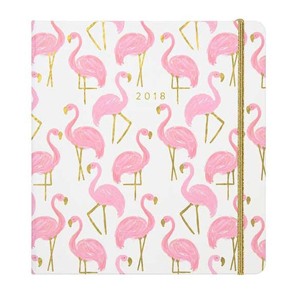 Flamingo Bright and Lively Dated Planner