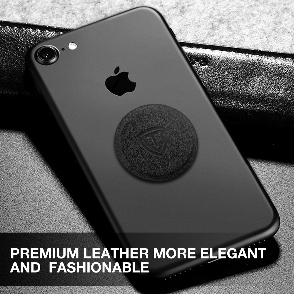 Leather Mount Metal Plate For Magnetic Car Dash Mount Cell Phone GPS and Tablet Holder