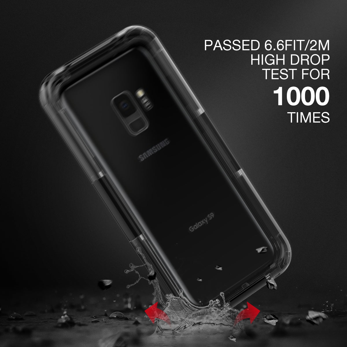 IPX8 Waterproof Dustproof Phone Protector Case For Samsung Galaxy S8 Plus