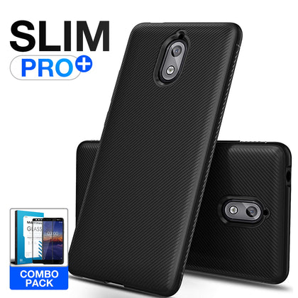 Nokia 3.1 Case, Maxshield Flex Air TPU Thin Slim Cover For Nokia