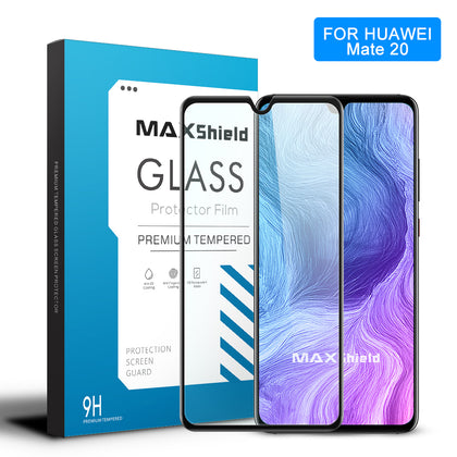 MAXSHIELD 3D Curved Tempered Glass Screen Protector For Huawei Mate 20