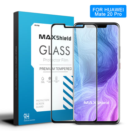 MAXSHIELD 3D Curved Tempered Glass Screen Protector For Huawei Mate 20 Pro