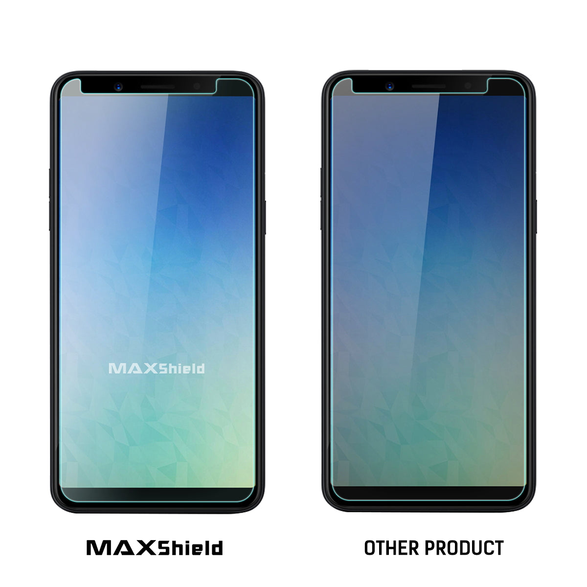 GENUINE MAXSHIELD TEMPERED GLASS SCREEN PROTECTOR FOR Oppo A73 F5