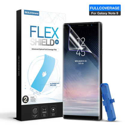 MAXSHIELD FlexPro+ Super Easy Apply Screen Protector for Samsung Galaxy Note 9